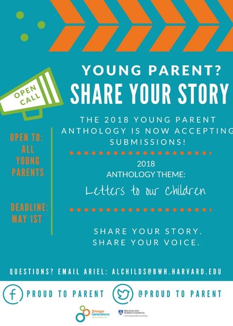 2018 Anthology flyer